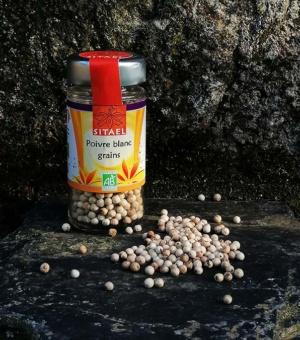 Poivre blanc en grains SITAEL