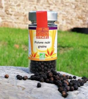 Poivre noir en grains SITAEL