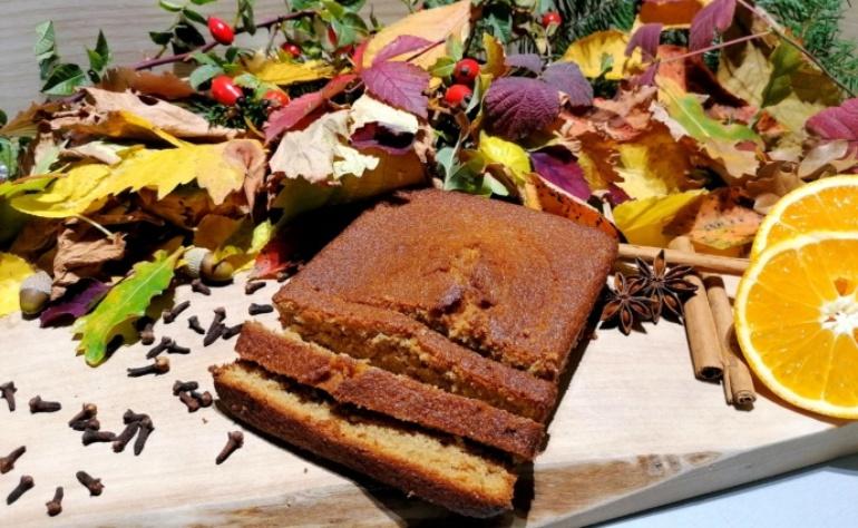 """Notre recette du gâteau """"Saveurs d'automne"""", avec le mélange pain d'épices SITAEL"""