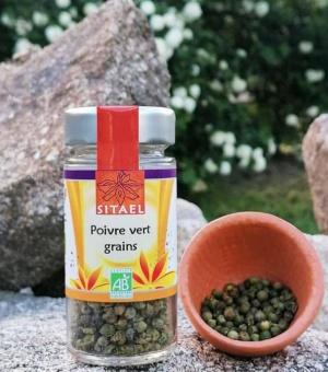 Poivre vert en grains SITAEL