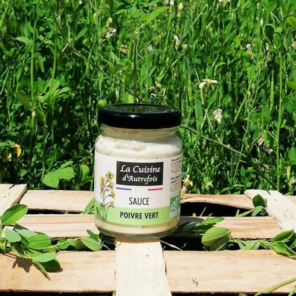 La sauce poivre vert de notre partenaire La cuisine d'Autrefois