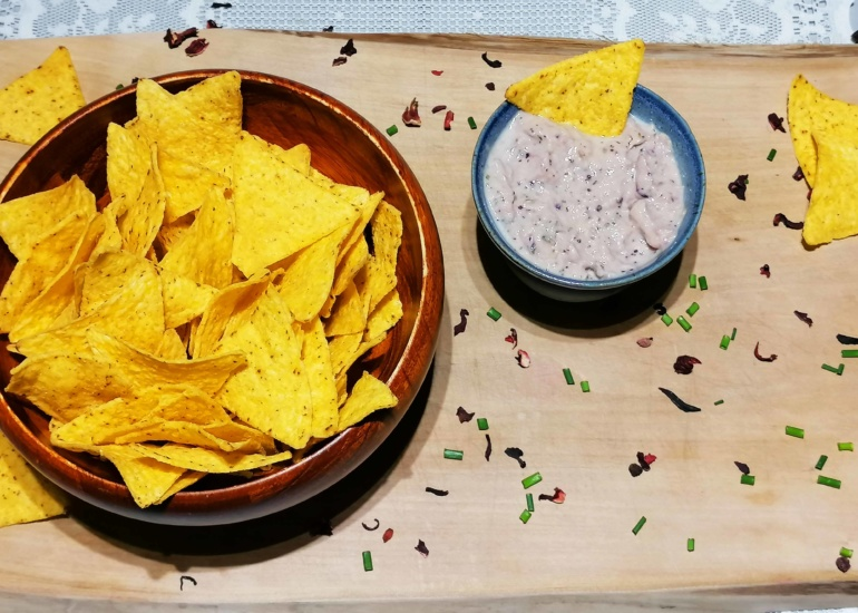Notre sauce apéro au thon, un apéritif coloré !