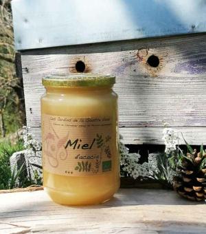 Miel d'acacia bio des Jardins de la Goutte d'eau, en Ardèche