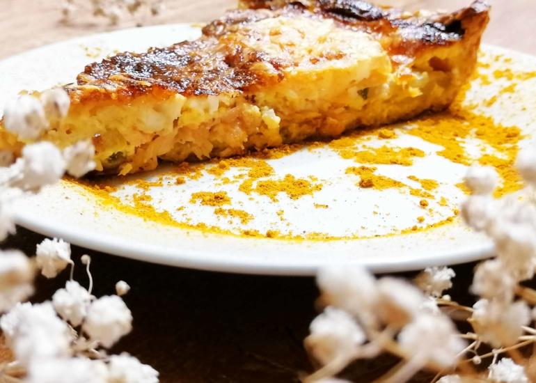 Le Curry dans la quiche